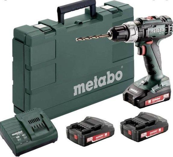 METABO BS18 Li 2X1,3AH 6.02207500