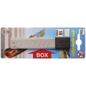 BGS nožići za skalpel 18mm (10 dij) Kraftmann 50628