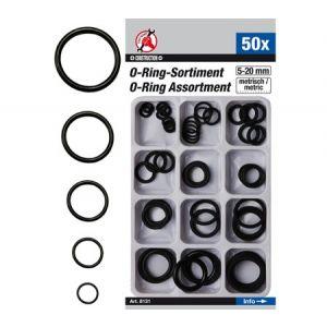 BGS set O-ring brtvi 5-20mm 50 kom Kraftmann 8131
