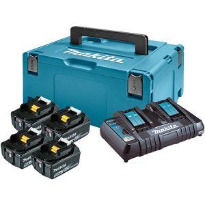 LXT Power set u koferu MAKPAC 3, BL1850Bx4, DC18RD197626-8  z3/20