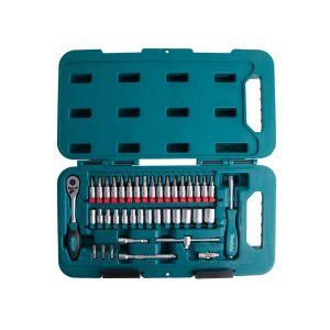 MAKITA 40-dijelni set 1/4″ bitova i nasadnih ključeva P-90283