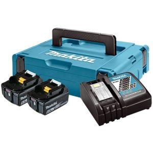 Set Baterija i Punjač | LXT Makita Li-ion 2x18V 6,0Ah BL1860B Indikator + DC18RC | 198116-4  z3/20