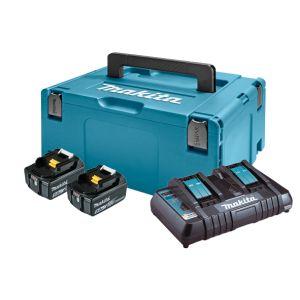 LXT Power set u koferu MAKPAC 3, BL1850Bx2, DC18RD197629-2  z2/20
