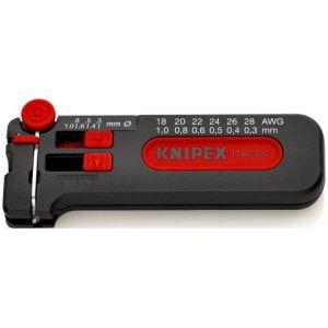 KNIPEX Skidač žice Prikladno za CU kablove 0,3 do 1 mm (12 80 100 SB)