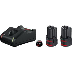 2 x GBA 12V 2.0Ah + GAL 12V-40 Professional  (1600A019R8)
