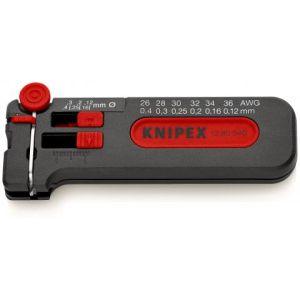 KNIPEX Skidač žice Prikladno za CU kablove 0,12 do 0,4 mm (12 80 040 SB)