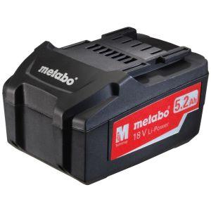 Metabo baterija 18V / 5,2Ah Li-ion  6.25592