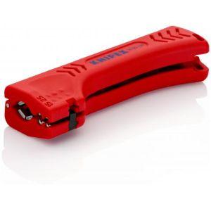 KNIPEX univerzalni alat za skidanje izolacije za industrijske kablove 130 mm 8,0 bis 13,0 mm (z. B. NYM kabel 3 x 1,5 (16 90 130 SB)