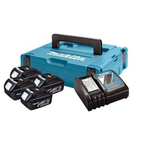 LXT Power set u koferu MAKPAC 1, BL1830x4, DC18RC197954-1  z3/20