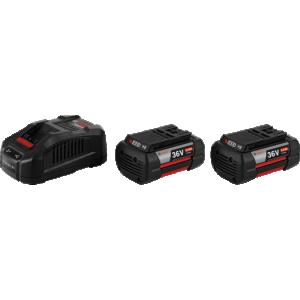 Bosch Početni set 2 x GBA 36V 6,0 Ah + GAL 3680 CV Professional  (1600A00L1U)
