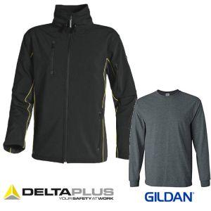 Delta plus Horten softshell sa majicom dugih rukava